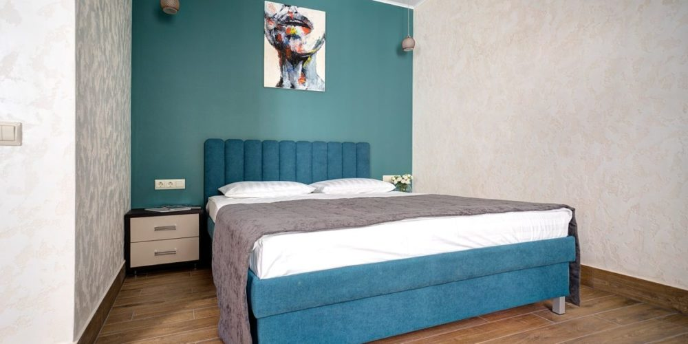 Стандартные апартаменты с двуспальной кроватью